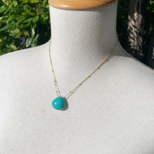 Solitaire: Turquoise on Gold