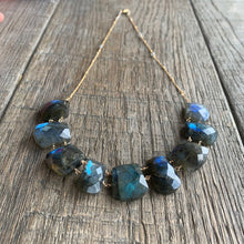 Labradorite Collar Necklace