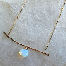 Opalite Branch Necklace