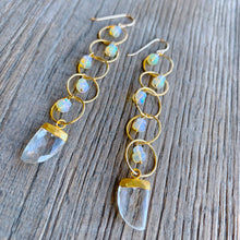Opal and White Moonstone Dusters