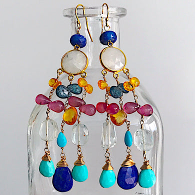Caribbean Majesty Earrings
