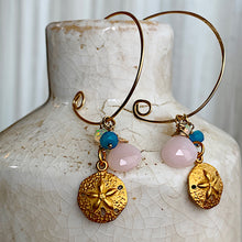 The Infinite Gold Hoops in Seashores