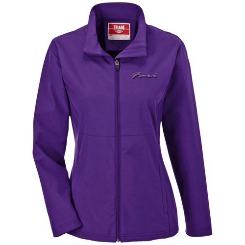 Purple Soft Shell Jacket