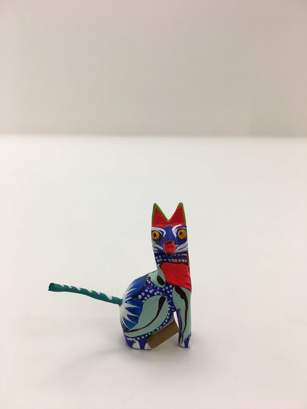 Original Hand Painted Oaxacan Cat