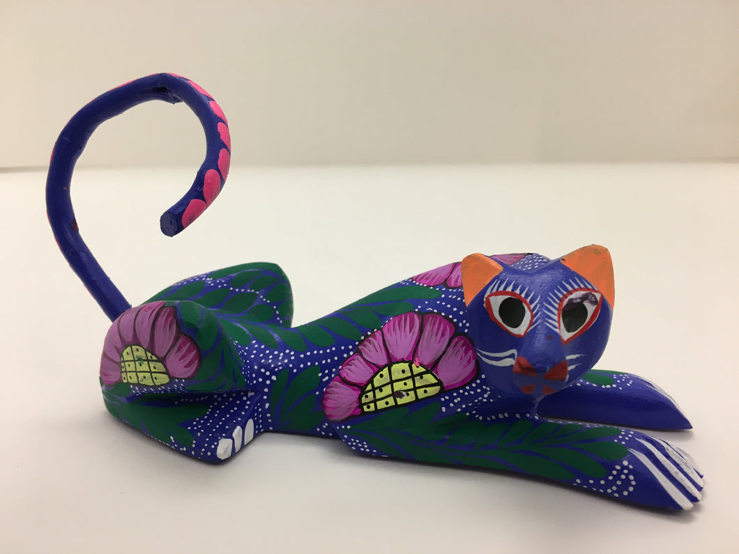 Original Hand Painted Oaxacan Cheetah
