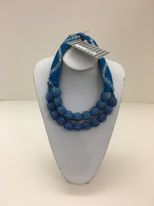 Vianney Méndez Necklace Blue Short