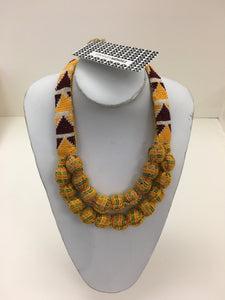 Vianney Méndez Necklace Yellow Short