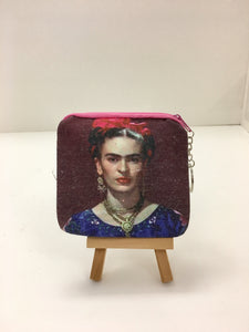 Frida Kahlo Change Purse