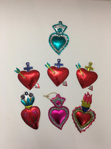 Heart Tin Wall Hangings