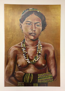 Fine Art Print Bathala's Daughters: Tala by Cece Carpio