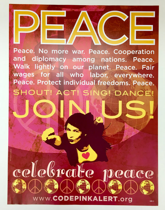 Peace Print by Code Pink