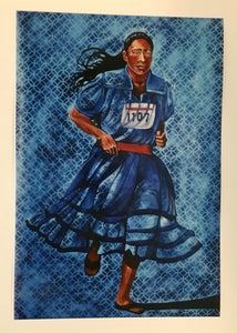 Woman Running (Untitled) by Cece Carpio