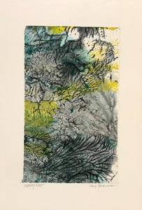 Forest Series, Monoprint Cards by Kay Brown