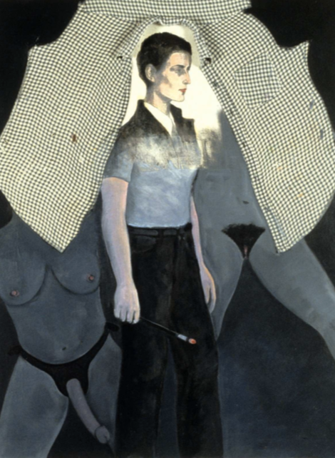 Self-Portrait as Romaine Brooks