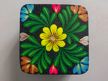 Hand-painted Oaxacan Boxes (w/Attached Lid)