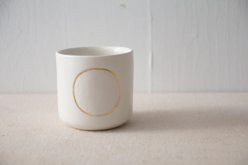 Golden Circle Tumbler by Kristina Kotlier