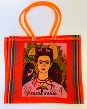 Nylon Frida Kahlo and Jose Guadalupe Posada Tote Bags