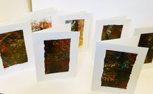 Monoprint Cards by Kay Brown: Earth Tones