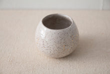 Speckled Round Petite Pot by Kristina Kotlier
