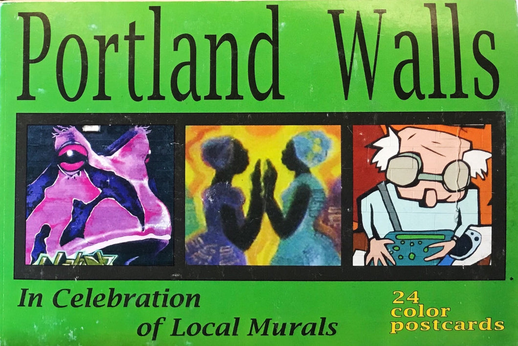 Portland Walls: In Celebration of Local Murals, 24 Color Postcards