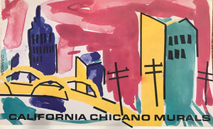California Chicano Mural Postcard Set