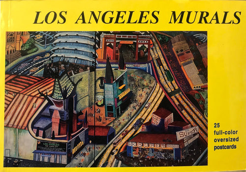 Los Angeles Murals, 25 Full Colored Oversized Postcards by Robin J. Dunitz