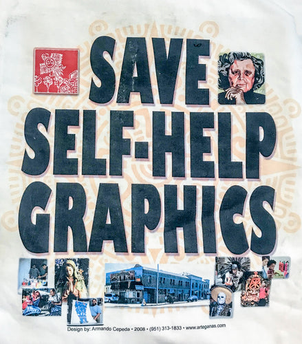 Save Self-Help Graphics (Vintage 2008) T-Shirt