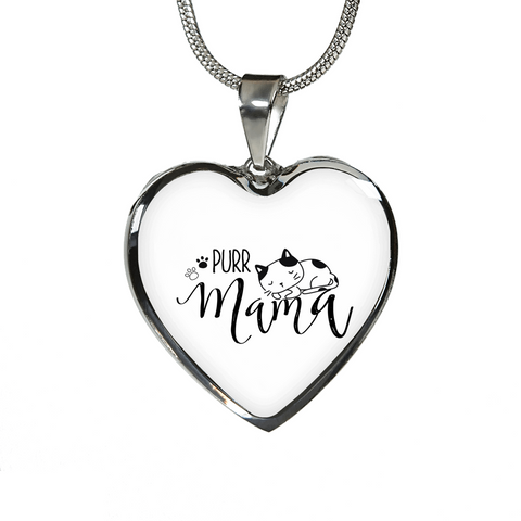 Purr Mama Pendant and Necklace