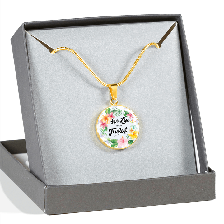Live Life Inspirational Custom Made Necklace / Bangle