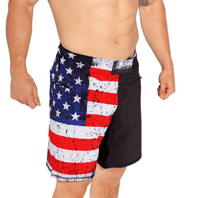 American Defender Shorts 2.0 (Undefeated Edition)