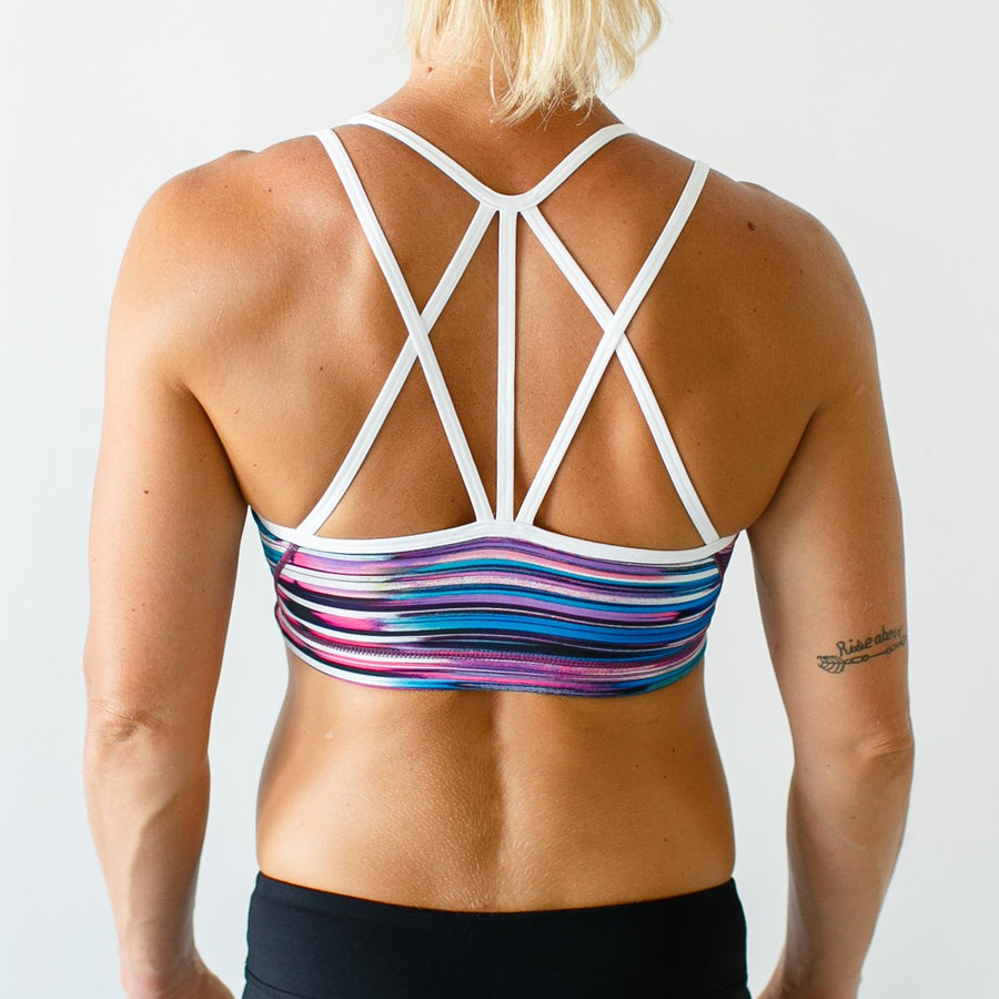 Rhapsody Sports Bra (Blurred Lines)