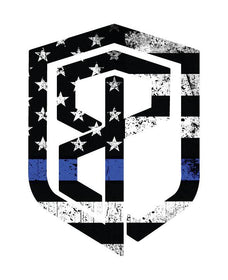 Born Primitive Decal (Thin Blue Line)