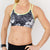 Rhapsody Sports Bra (Monochromatic Floral)
