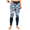 Essential Leggings 2.0 (Indigo Camouflage)