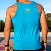 Electric Feels Man Tank (WODAPALOOZA 2020- Neon Blue)