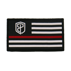 Born Primitive Velcro Flag Patch (Thin Red Line Edition)