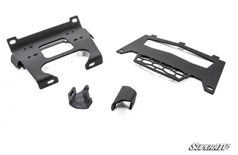 Polaris RZR S 1000 Winch Mounting Plate