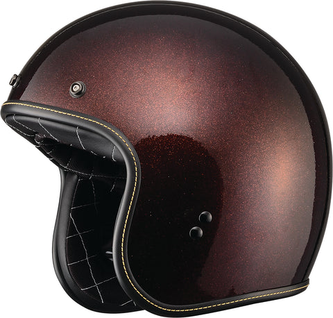 .38 Metal Flake Helmet Root Beer Xs