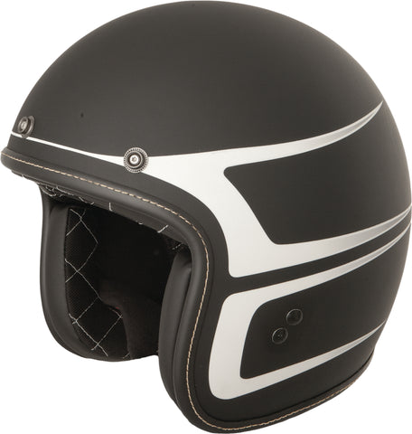 .38 Scallop Helmet Gloss Black/yellow Xs