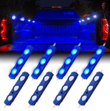 Xprite 8 LED Rock Light Pods
