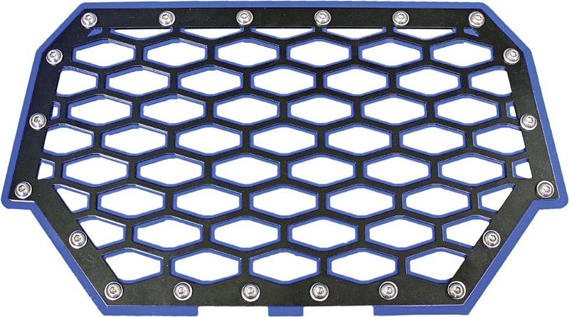 2-panel Front Grill (black-blue)