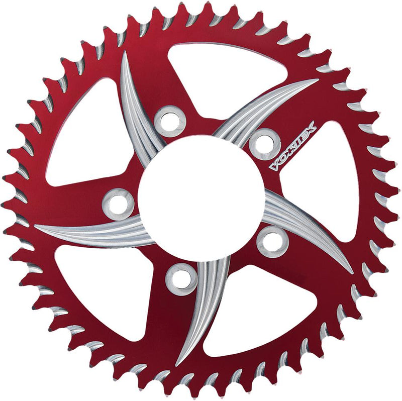Cat5 Rear Aluminum Sprocket Red 49t