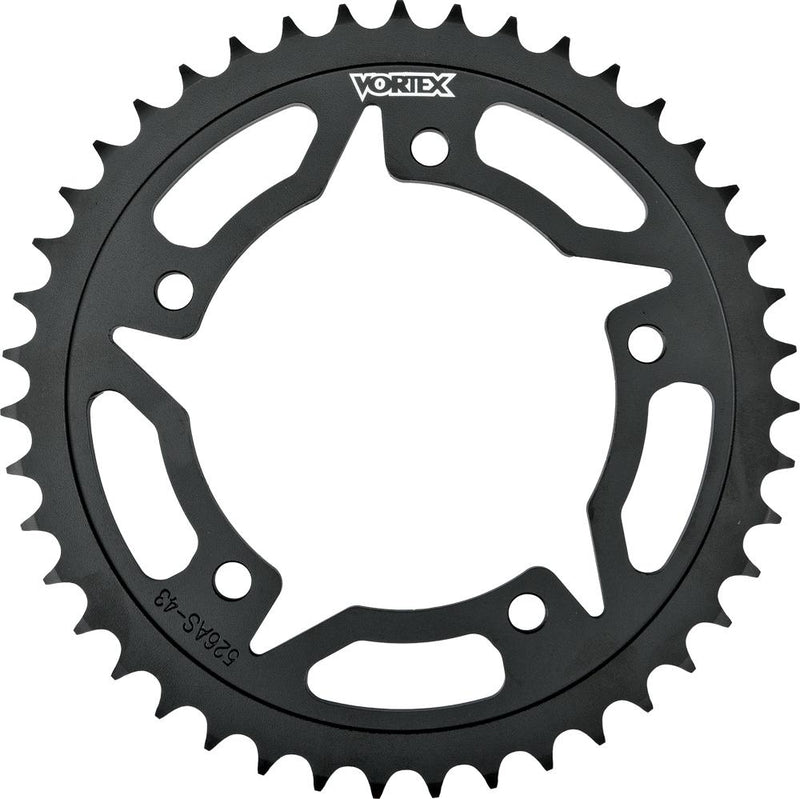 Steel Rear Sprocket Black 40t