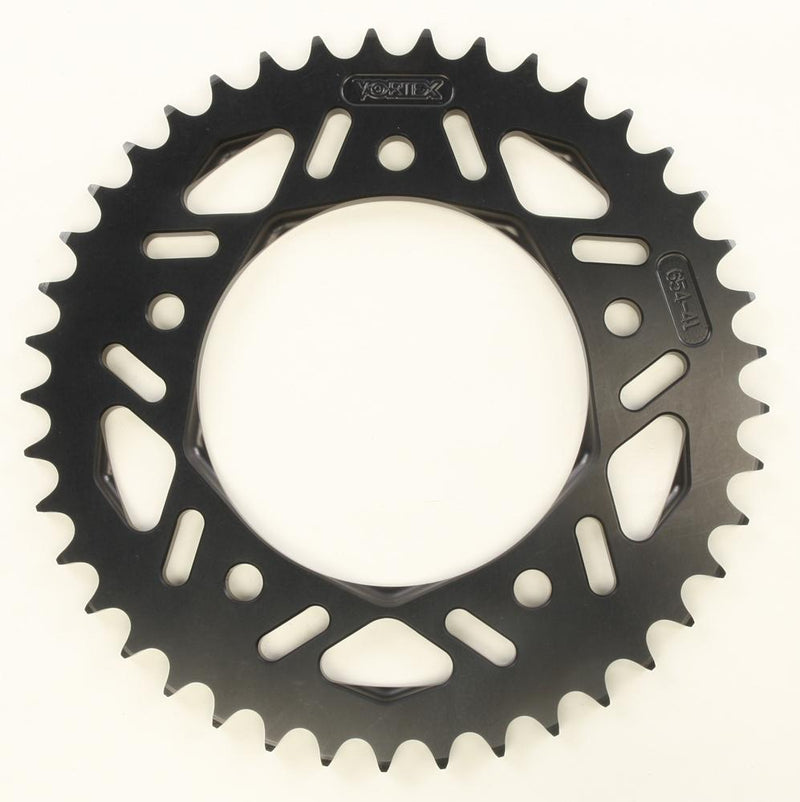Vortex Sprocket Rear Alum 41t Black