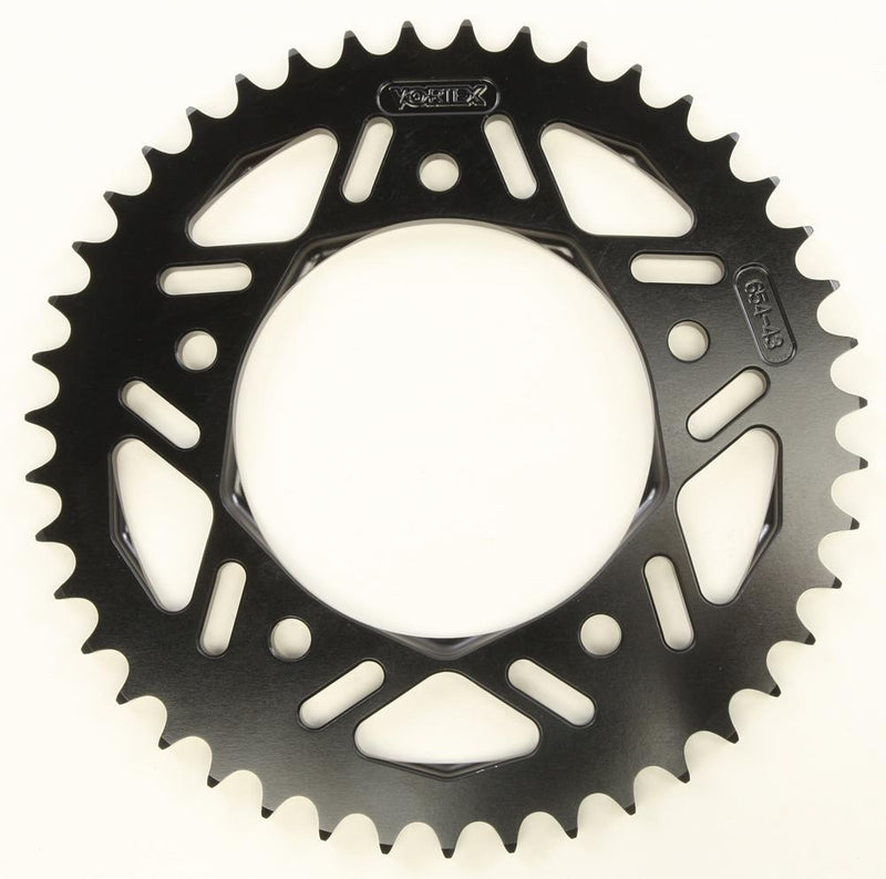 Vortex Sprocket Rear Alum 43t Black