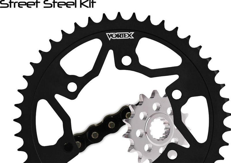 Spkt-chain Kit Kaw W-steel Rear Spkt