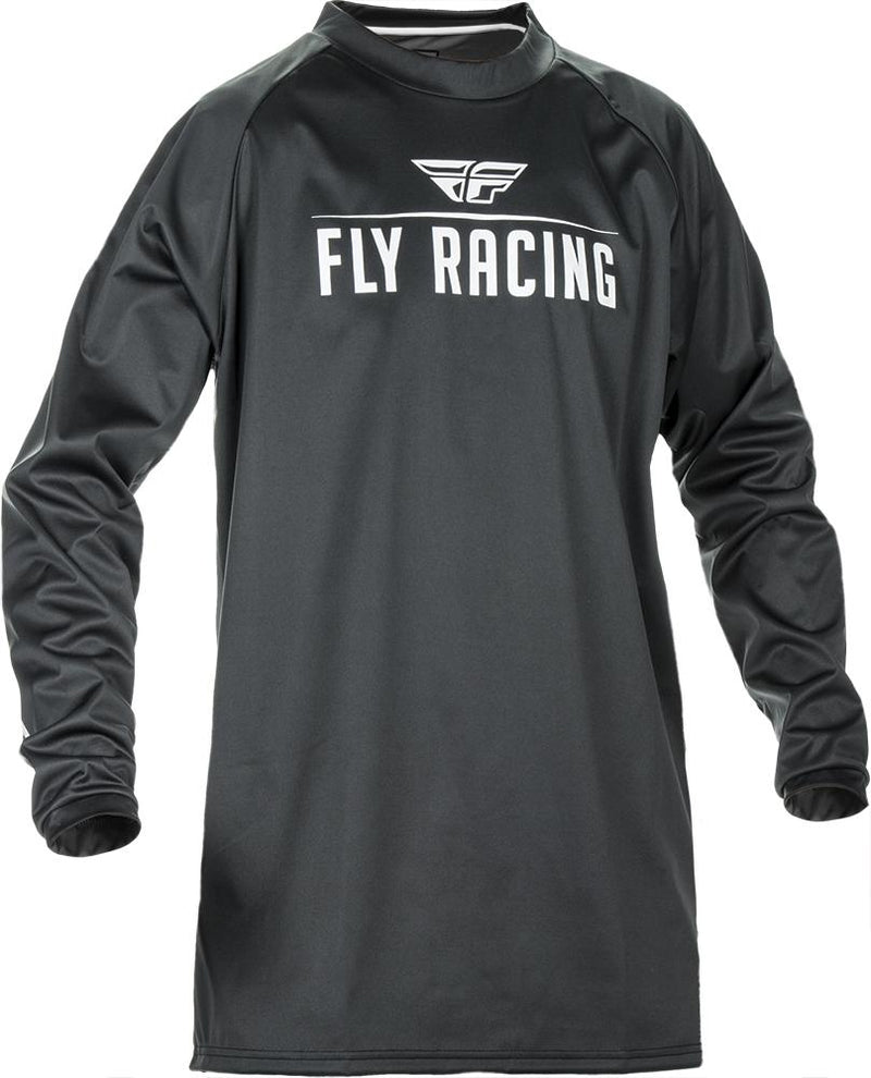 Windproof Jersey Black/Grey 2X