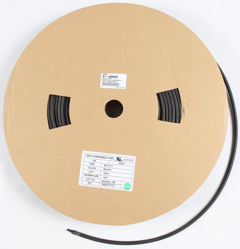 "100m Roll 1-4"" Heat Shrink Tub"