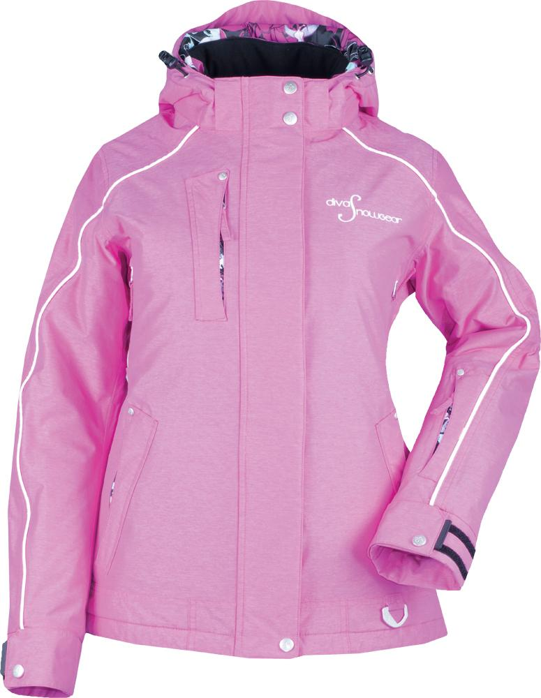 Lily Collection Jacket Pink Heather 1x
