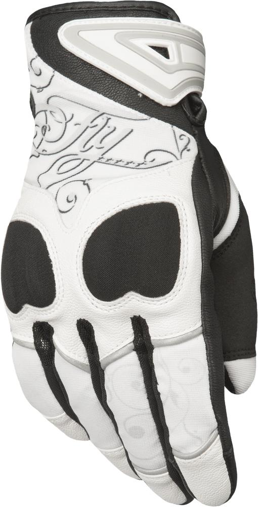 Women's Venus Gloves White-black Md